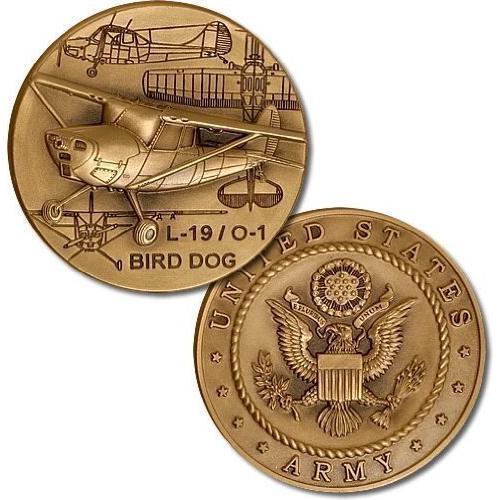 L-19 / O-1 Bird Dog Challenge Coin