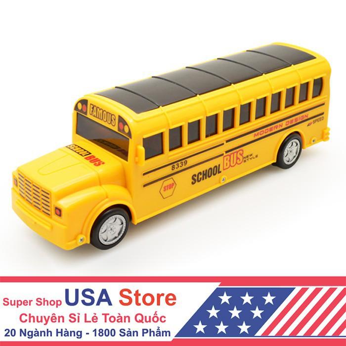 Tết nay sắm gì Xe Bus Phát Nhạc (Giao Màu Ngẫu Nhiên) BMBE1052 Sale đặc biệt