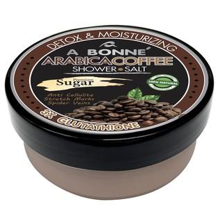 Muối Tắm Kết Hợp Đường A Bonne Cà Phê Arabica Tẩy Tế Bào Chết, Trắng Da A Bonne Arabica Coffee Shower Salt 350g (Hũ)-2