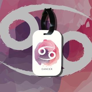 Travel tag cho túi xách balo du lịch in hình Cung hoàng đạo Cancer Cự Giải thumbnail