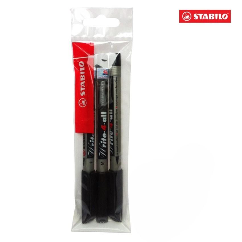 Bộ 3 cây bút kỹ thuật STABILO Write-4-All (M/F/S) (đen) - 9934385 , 835782210 , 322_835782210 , 122000 , Bo-3-cay-but-ky-thuat-STABILO-Write-4-All-M-F-S-den-322_835782210 , shopee.vn , Bộ 3 cây bút kỹ thuật STABILO Write-4-All (M/F/S) (đen)