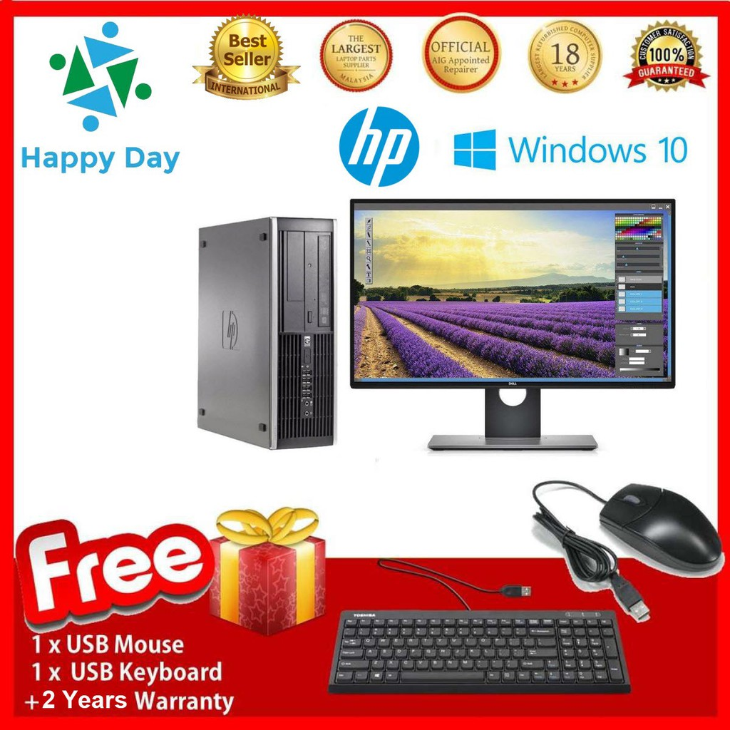 Máy tính HP 6300 Pro SFF + LCD Dell 22inch Full HD (CPU Core I7 3770- Ram 8GB- SSD 240GB) - 15452399 , 1606041880 , 322_1606041880 , 12520000 , May-tinh-HP-6300-Pro-SFF-LCD-Dell-22inch-Full-HD-CPU-Core-I7-3770-Ram-8GB-SSD-240GB-322_1606041880 , shopee.vn , Máy tính HP 6300 Pro SFF + LCD Dell 22inch Full HD (CPU Core I7 3770- Ram 8GB- SSD 24