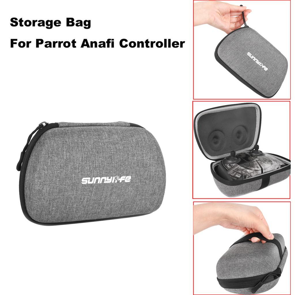 Sunnylife Remote Controller Storage Bag Handheld Pocket for Parrot Anafi