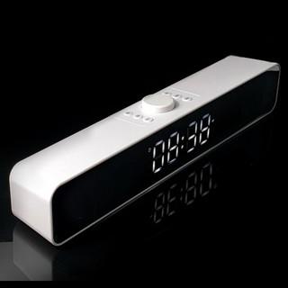 Loa bluetooth kiêm đồng hồ báo thức Gutek G12 màn hình led hỗ trợ nghe nhạc usb thẻ nhớ