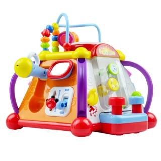 Nhà đa chức năng cho bé sơ sinh Huile toys