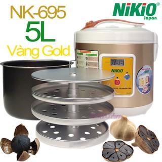 Máy làm tỏi đen Chuyên Dụng Nhật Bản Nikio NK-695/ 5 lít - Vàng