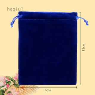 CHARMS Túi Nhung Đựng Trang Sức Cỡ Nhỏ 123 7x9 10x12 X 15cm