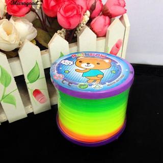 [Nhập CBCP5 giảm 5K đơn từ 55K] Lò xo giảm căng thẳng màu sắc cầu dạ quang vồng tuyệt đẹp cho trẻ em