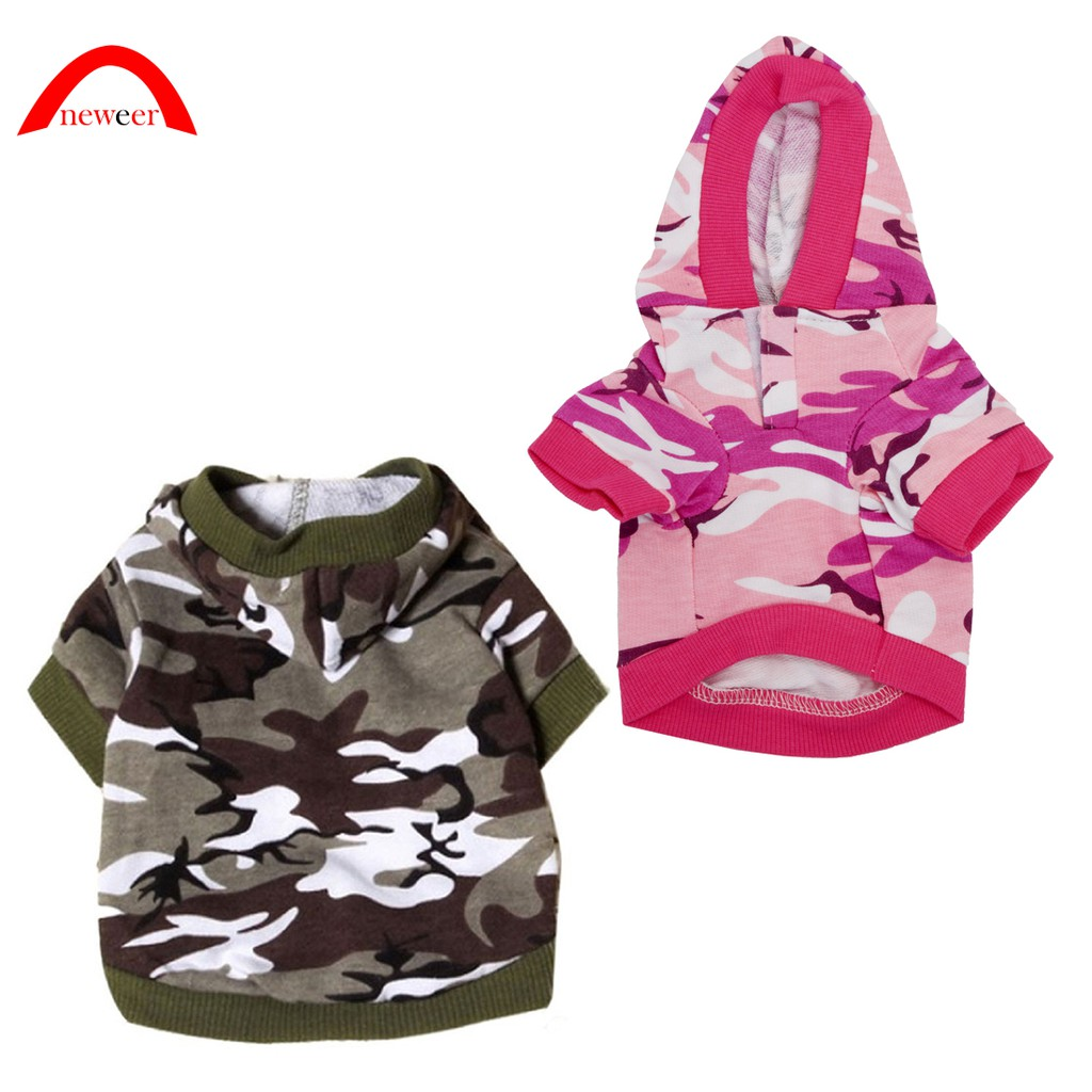 Cane Felpa Animale Camuffamento Cappuccio Costume (B rosa, S) Neweer