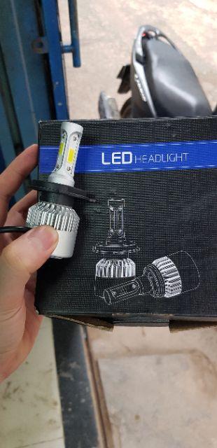 Led pha siêu sáng , 3 tim X7 giá bình dân