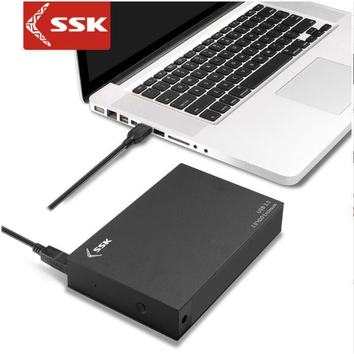 [Mã 267ELSALE hoàn 7% đơn 300K] HDD BOX 3.5'' SSK HE-G3000