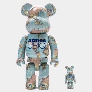 400% + 100% Bearbrick Atmos UBIQ