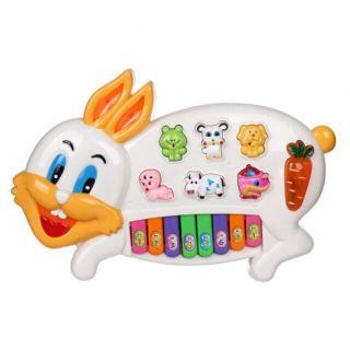 Đồ chơi đàn organ thỏ cho bé