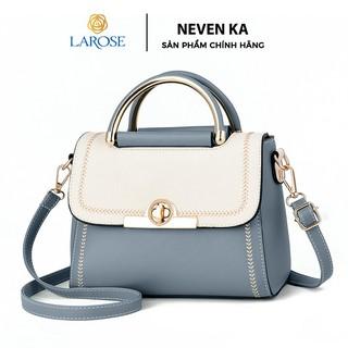 Túi xách nữ phối màu phong cách thanh lịch thương hiệu NEVENKA N8878