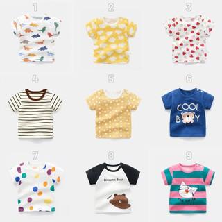 Áo thun cộc tay in hình cho bé nhiều hình Michley thumbnail