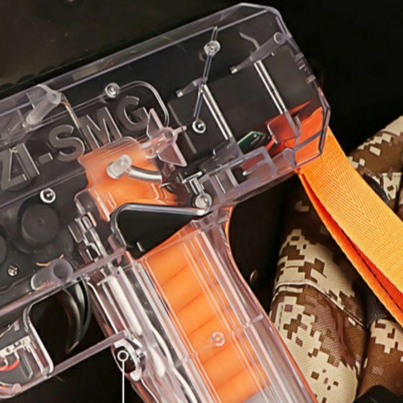Mô hình đồ chơi thể thao bằng nhựa Uzi tặng kèm que xốp mềm siêu an toàn