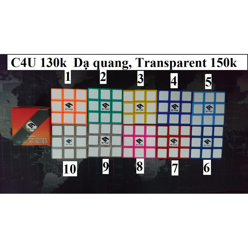 Rubik 3x3x3 C4U