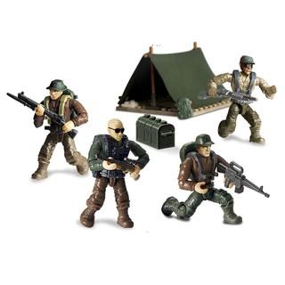Bộ đồ chơi lắp ráp mô hình lính rừng nhiệt đới quân sự hiện đại Call of Duty MEGA BLOK – LEGO – COBI