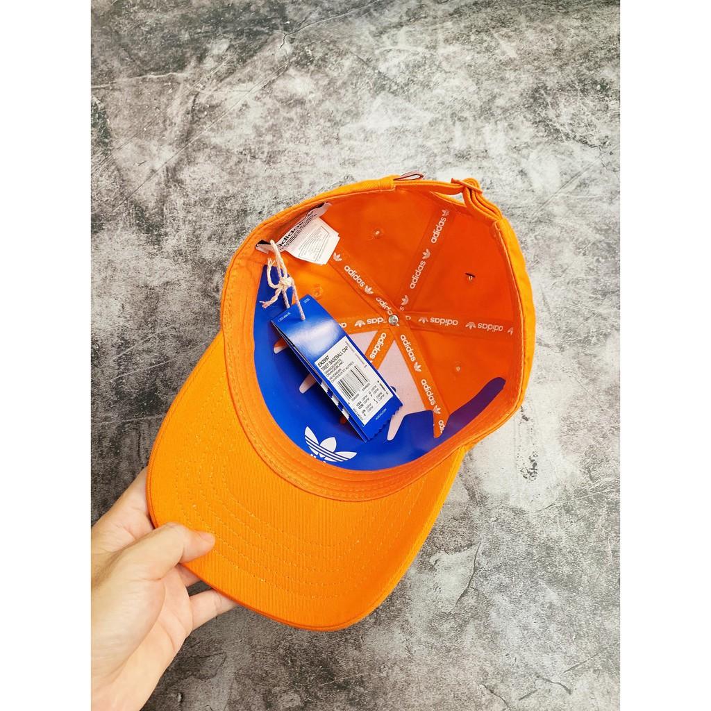 [ HÀNG XUẤT FULL TAG CODE ] Nón / Mũ lưỡi trai  Adidas Trefoil Baseball Cap - Orange EK2997 / Ảnh Thật / GIÁ TỐT NHẤT
