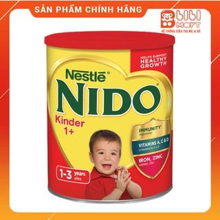 Sữa NIDO nắp đỏ 1,6kg FREESHIP sữa tươi dạng bột thơm ngon, giúp bé tăng cân vượt trội, Date T8 2021. thumbnail
