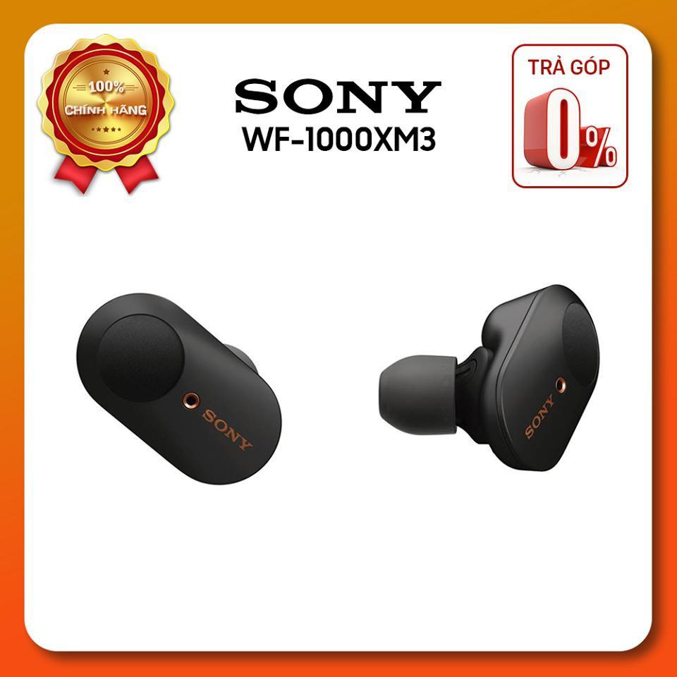 [Trả góp 0%] Tai nghe True Wireless Sony WF 1000XM3 hàng chính hãng