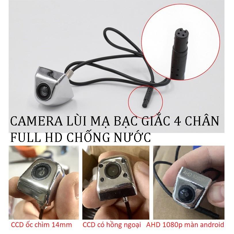 Camera lùi MẠ BẠC màn DVD taplo ANDROID AHD CCD đủ loại HD 480p đến 1080p có thang chia vạch thông minh