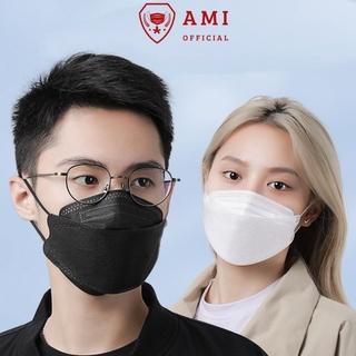 Khẩu trang 4D tiêu chuẩn Hàn quốc KF94 gói 5 chiếc - Ami official thumbnail