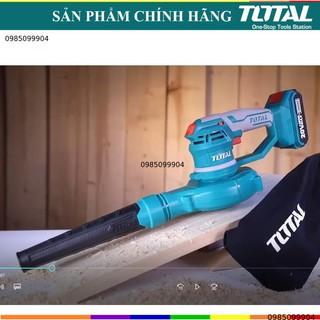 Máy thổi hút bụi dùng pin 20V TOTAL giúp thổi khí vệ sinh phòng nét kho hàng nhà cửa Li-ion TABLI2001