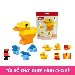Túi đồ chơi xếp hình cho bé Dubie (6 mẫu để lựa chọn) thumbnail