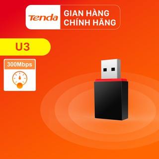 Tenda USB kết nối Wifi U3 tốc độ 300Mbps – Hãng phân phối chính thức