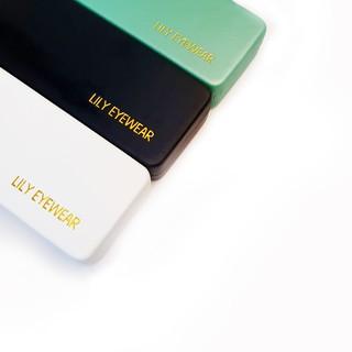 Hình ảnh Hộp đựng kính da Lilyeyewear - Màu Ngẫu Nhiên-1