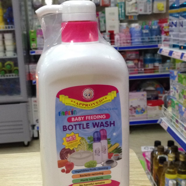 Nước rửa bình sữa và rau an toàn chai 700 ml