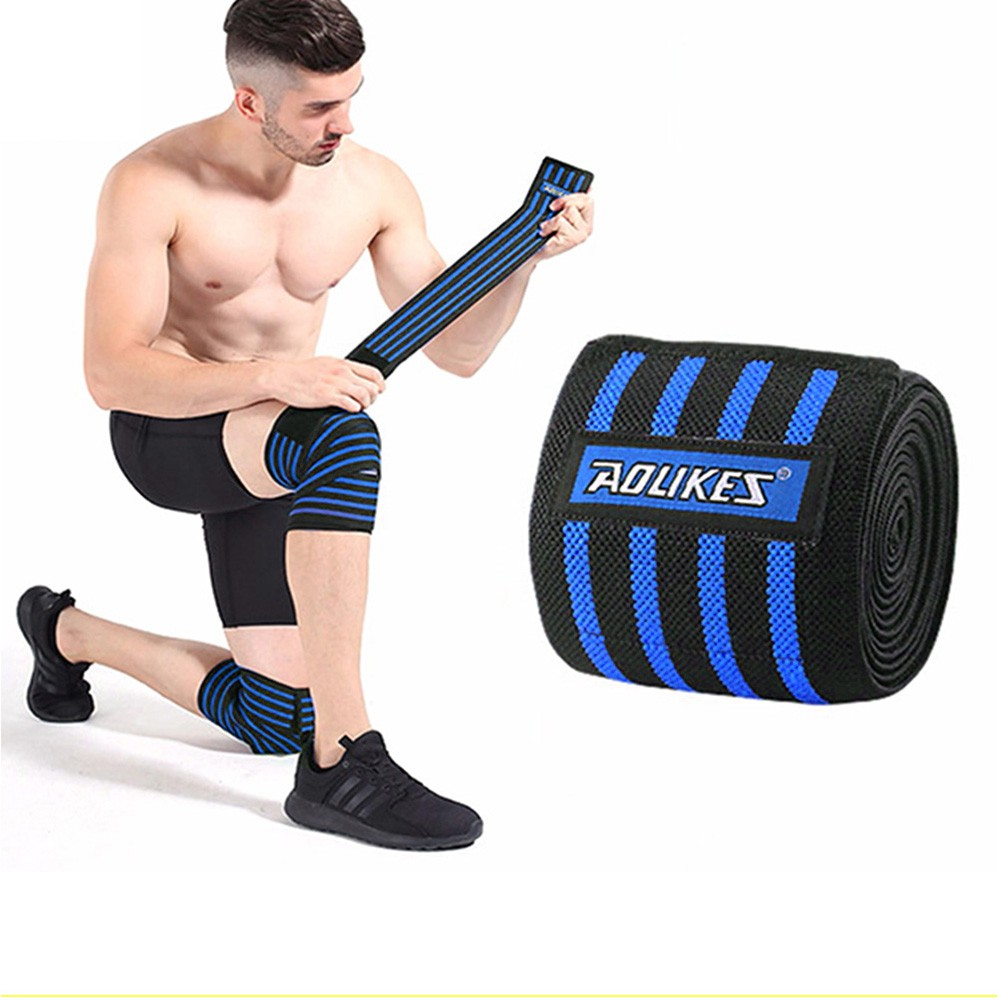 Quấn gối Tập Gym ⚡FREE SHIP⚡ Bó gối thể thao, Nẹp gối, Bảo vệ đầu gối, Băng Gối (1 Đôi)