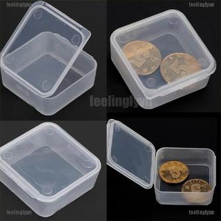 ❤TOP❤ Hộp đựng phụ kiện nhựa trong suốt đa năng tiện dụng kj 5 trong 1 ❤YO