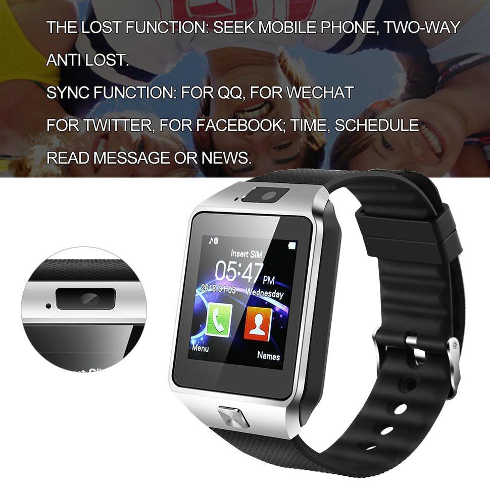 Đồng Hồ Thông Minh Kết Nối Bluetooth Có Camera Cho Ios Android Dz09
