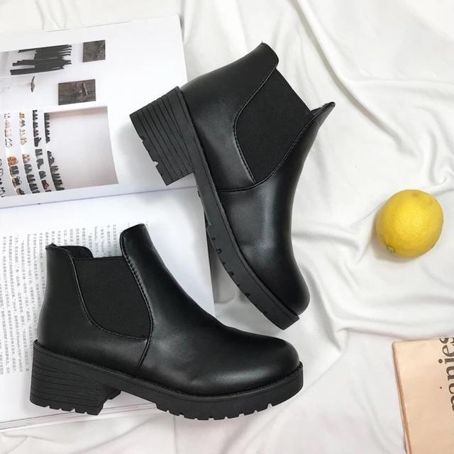 [CÓ SẴN] Boots cổ chun