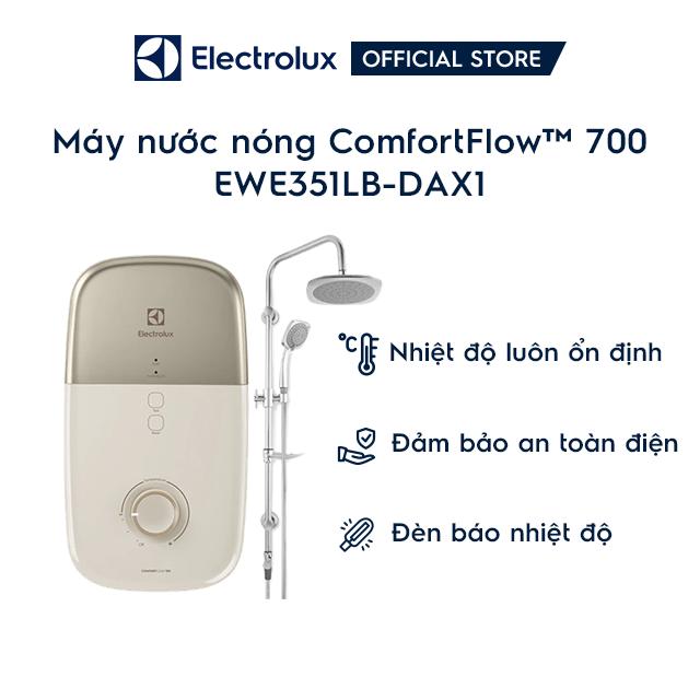 [Mã ELMIDNIGHT giảm 7% đơn 2TR] Máy nước nóng Electrolux EWE351LB-DAX1