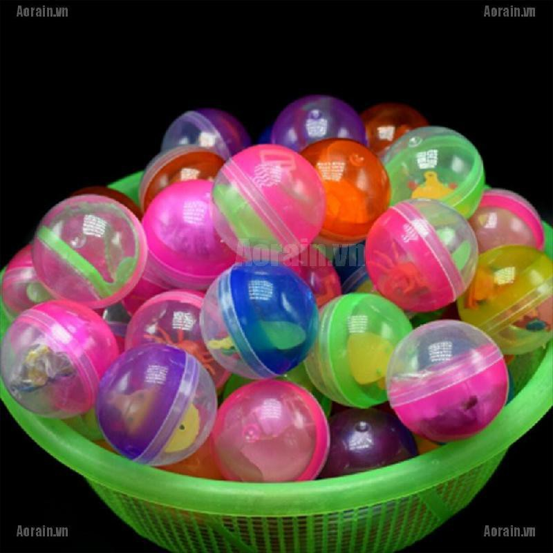 45mm 5X plastic balls capsules toys with different small toys vending machine jx