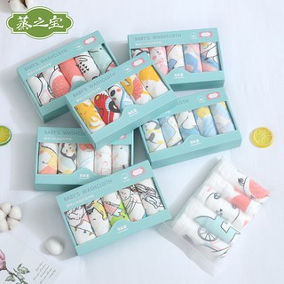 ❤️Chọn mẫu❤️ Set 5 & 6 khăn sữa sợi tre 6 lớp cho bé – KT 30×30 cm (Goodmama)