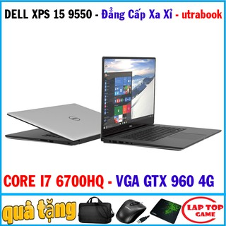 Yêu ThíchDell XPS 15 9550 quá đẹp siêu sang- core i7 6700hq laptop cũ chơi game đồ họa víp