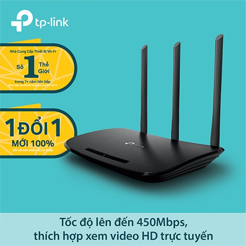 TP-Link - TL-WR940N - Router Wi-Fi Chuẩn N 450Mbps Hãng phân phối chính thức