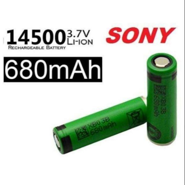 pin 14500 3v7 SONY 680maH