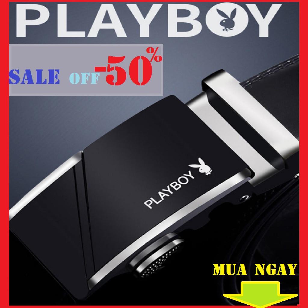 Thắt Lưng Nam Playboy Da Thật Mẫu Mới .mua ngay ->