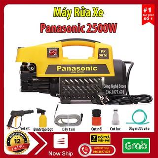 Máy rửa xe mini, máy rửa xe gia đình Panansonic 2500W, Áp lực 150bar, Bảo hành 12 tháng