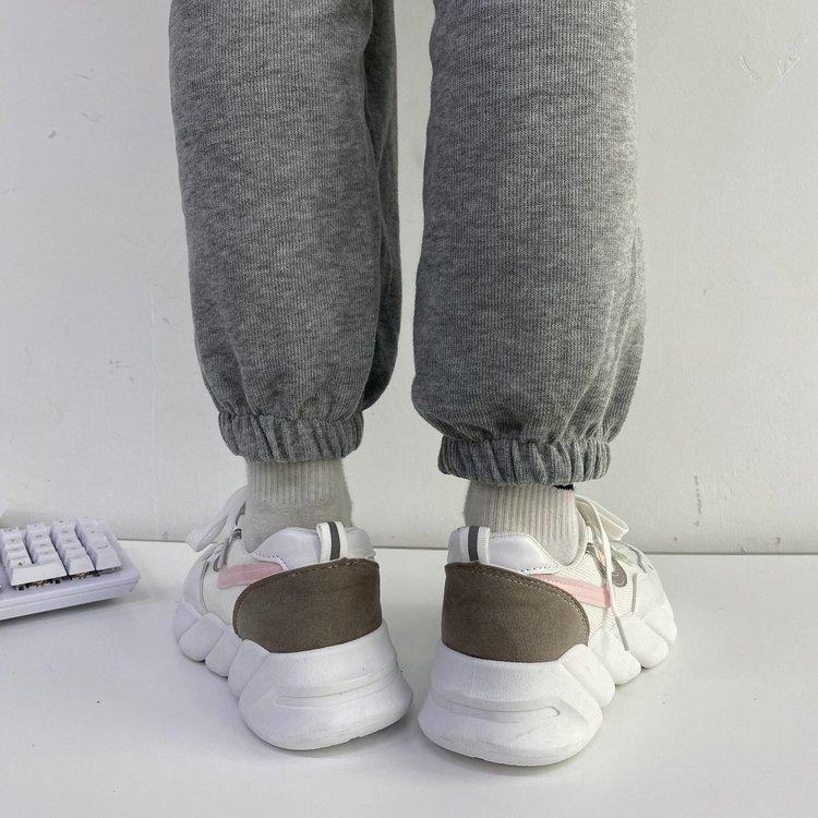Giày Thể Thao Nữ Thời Trang Có Dây Buộc
