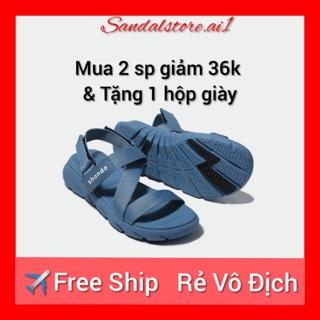 {SALE} GIÀY SANDAL SHAT-SHONDO F6 SPORT XANH NAVY