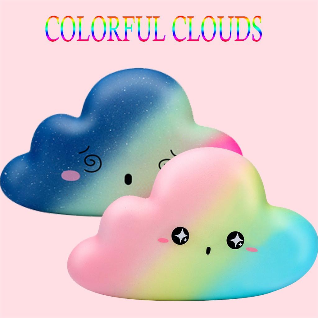 Đồ chơi mềm dẻo giảm stress hình đám mây dễ thương