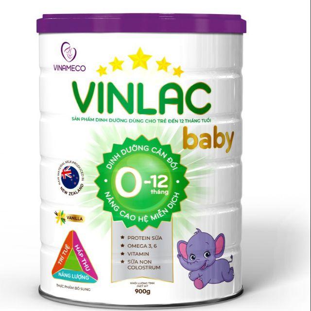 Sữa vinlac baby 900g date mới nhất 2023( 1lon tặng 1 quà)