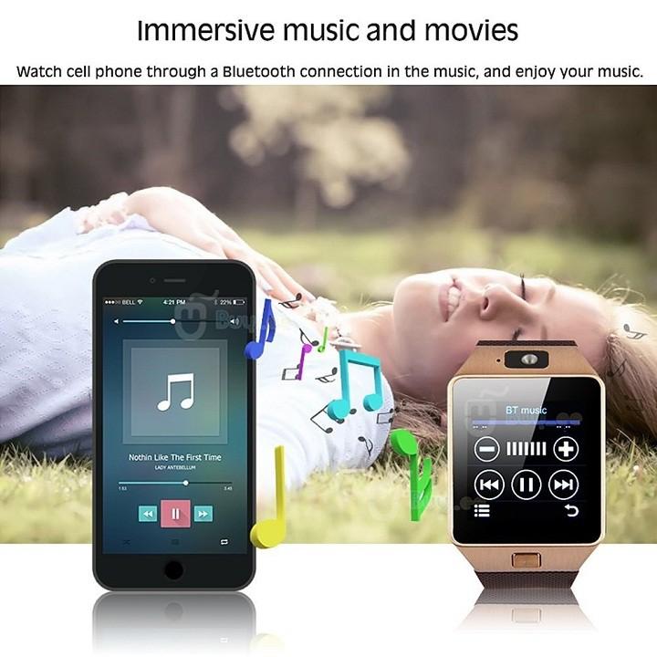 Đồng Hồ Thông Minh Smart Watch Uwatch DZ09 Tiếng việt