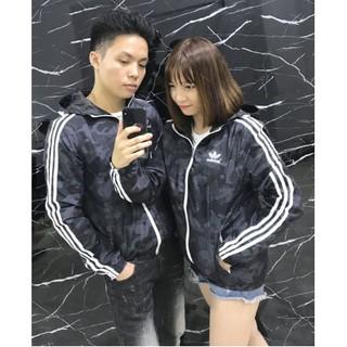 [ Yêu Thích ] Áo gió thời trang cao cấp Camo Adidas